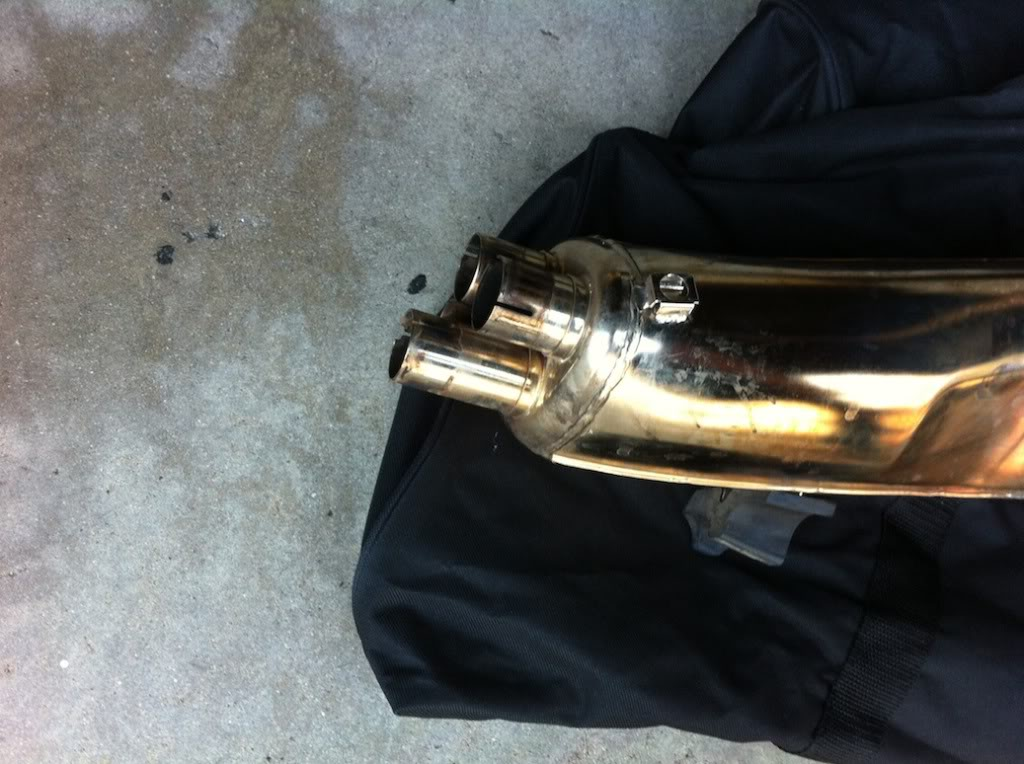 1985 K100 RS stock exhaust can muffler  IMG_1012