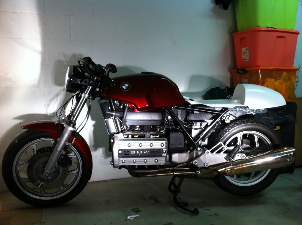 My K100 Cafe racer project story IMG_0451