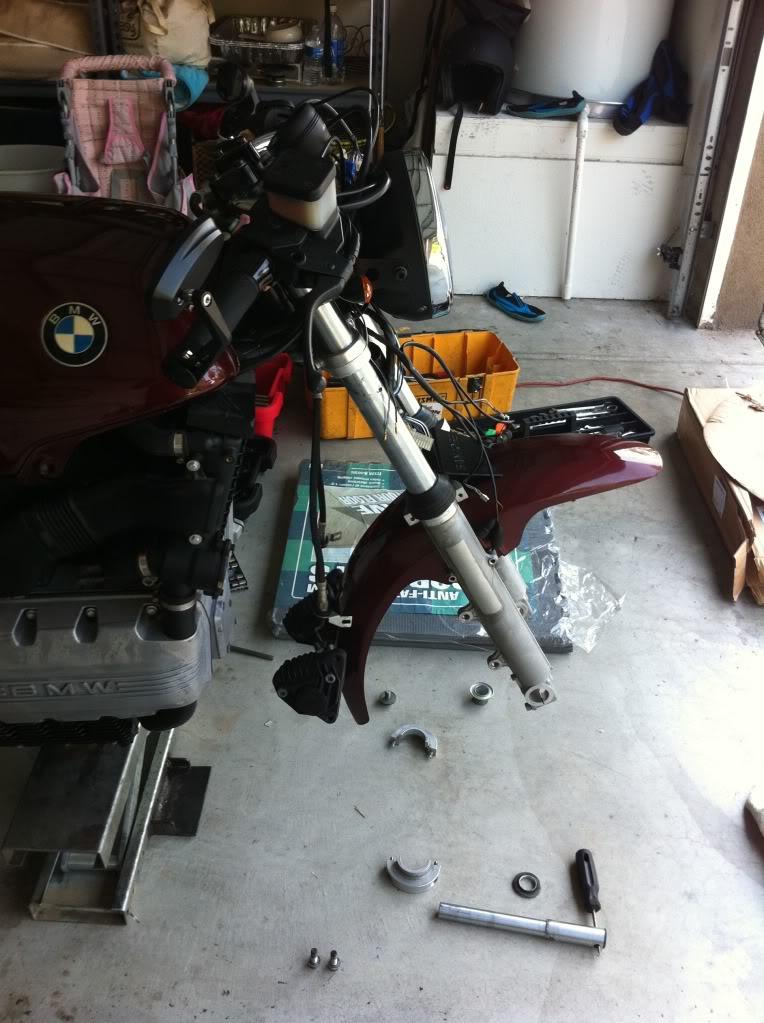 My K100 Cafe racer project story IMG_0456