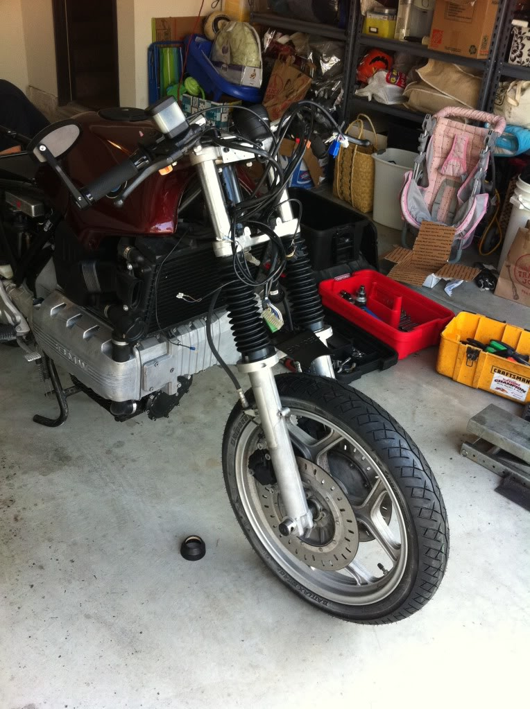 My K100 Cafe racer project story IMG_0459