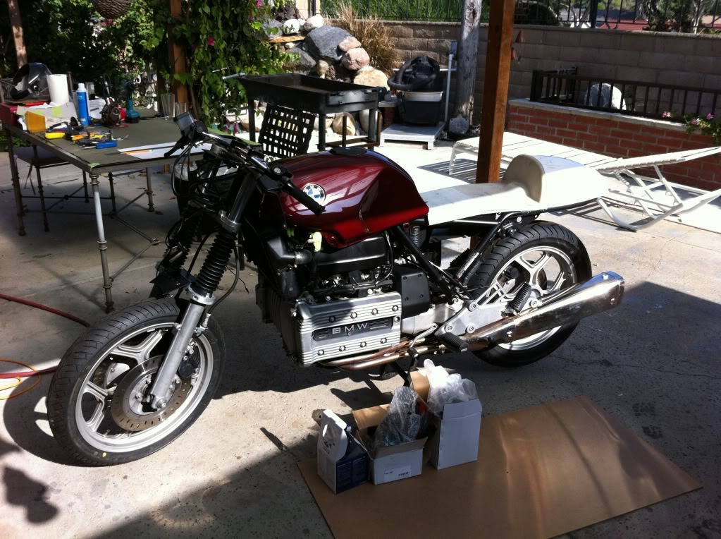 My K100 Cafe racer project story Eee1e21e
