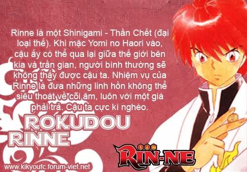 [Online+Download Việt Trans] Kyokai no Rinne | RIN-NE | Manga mới nhất của Rumiko Takahashi!! Charchart
