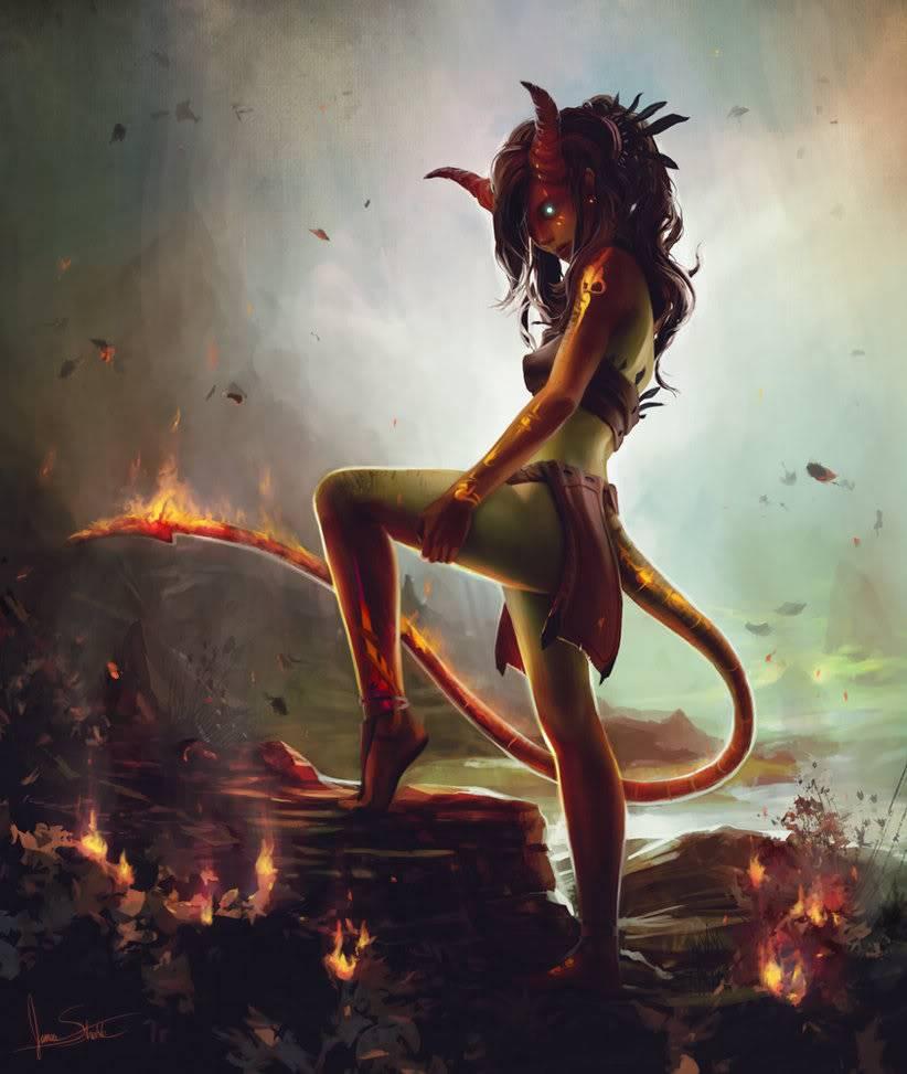 Dante Vantas Fire_nymph_by_jameswolf-d31l6ma