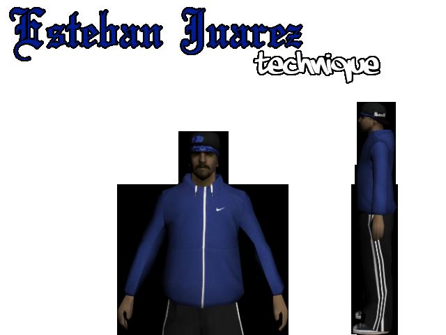 TECHNIQUE'S MOD SHOWROOM! Esteban