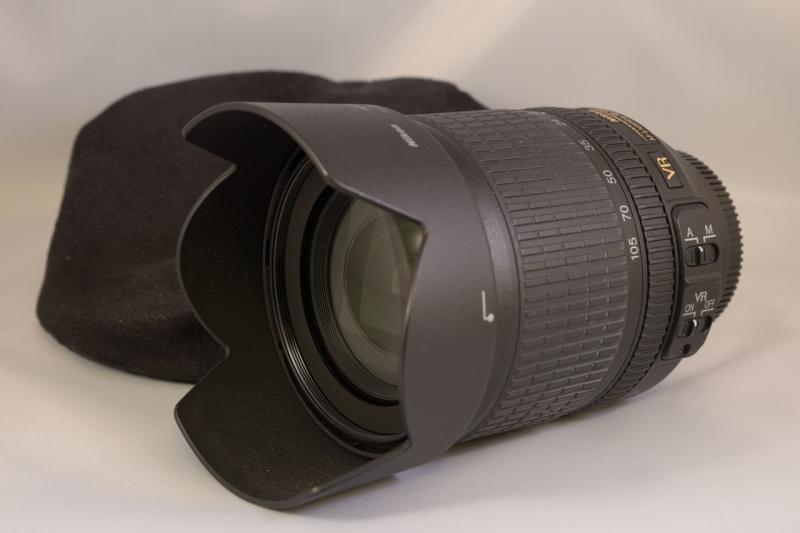For Sale: Nikon 18-105mm NIKKOR AF-S DX VR Zoom lens DSC_0079_1