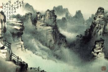 Templo de Nuwa Pintura_china