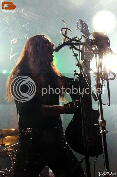 Reportagem: AMON AMARTH + SEPTIC FLESH, Hard Club 2011-11-02 05