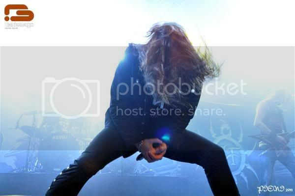 Reportagem: HAMMERFALL + VICIOUS RUMOURS + AMARANTHE, Hard Club, 2011-12-09 AVRH22