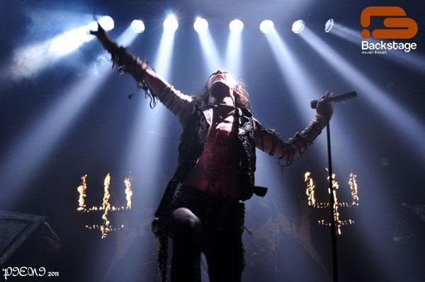 Foto-reportagem: 2011-03-03, WATAIN + SHINING + AOSOTH, Hard Club W50