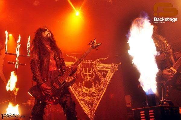 Foto-reportagem: 2011-03-03, WATAIN + SHINING + AOSOTH, Hard Club W72