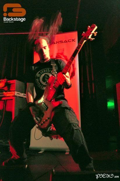APOTHEUS + THE RANSACK + DAMAGE MY GOD, 2011-02-19, Hard Club Hardclub318