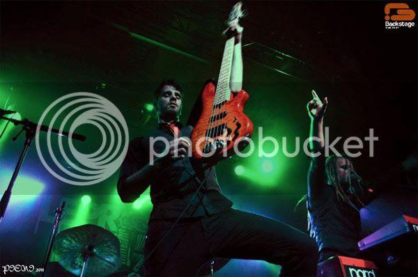 Reportagem: AMORPHIS + LEPROUS + NAHEMAH, Hard Club 2011-11-20 Amorphis1626copy