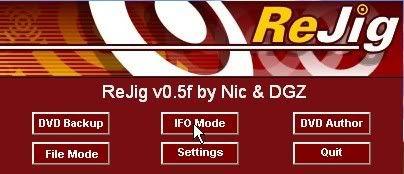 Handleiding voor Dvdlab pro v1.53 ReJig001