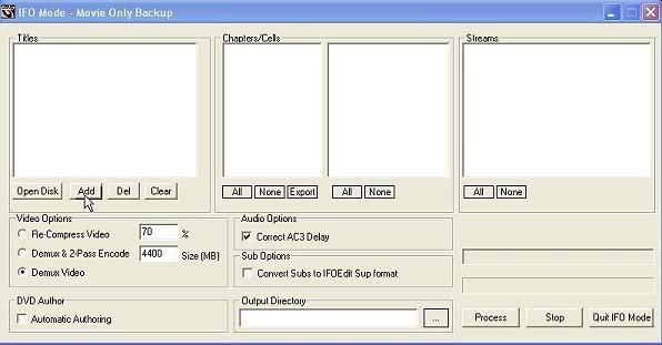 Handleiding voor Dvdlab pro v1.53 ReJig002