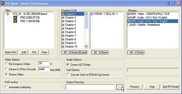 Handleiding voor Dvdlab pro v1.53 ReJig004a