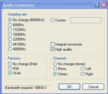Avi knippen tot een sample VirtualDubMod2001