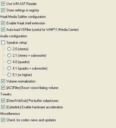 Speel avi's en dvd's met subs in media player Codecpack002c