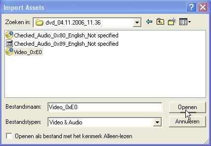 Handleiding voor Dvdlab pro v1.53 Dvdlabpro03