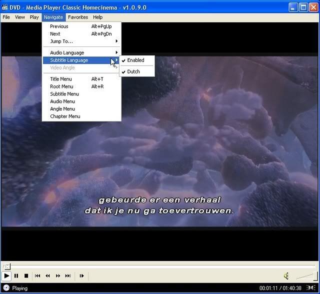 Speel avi's en dvd's met subs in media player Picture009