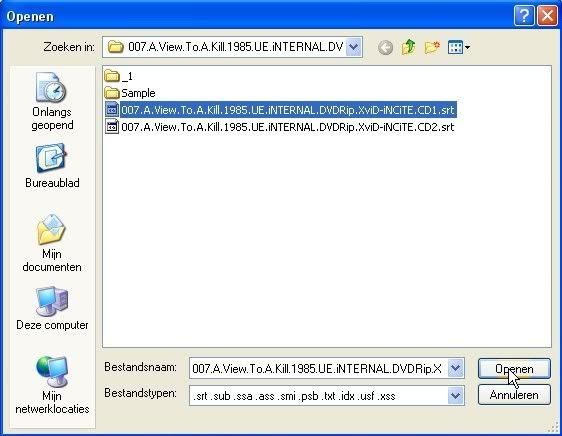 Speel avi's en dvd's met subs in media player Picture023