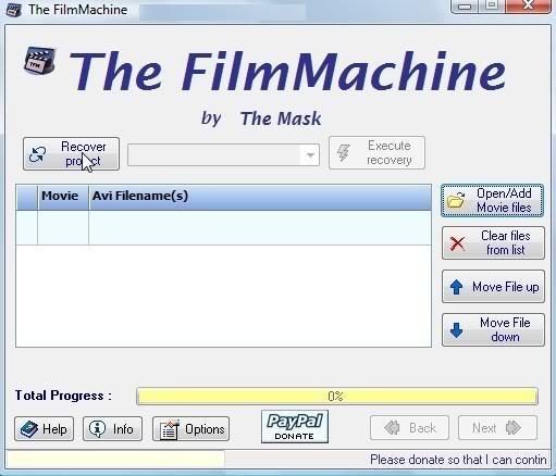Handleiding voor The FilmMachine 1.6.1 15