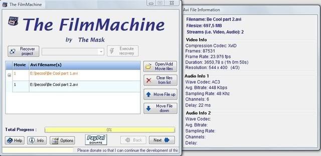 Handleiding voor The FilmMachine 1.6.1 5