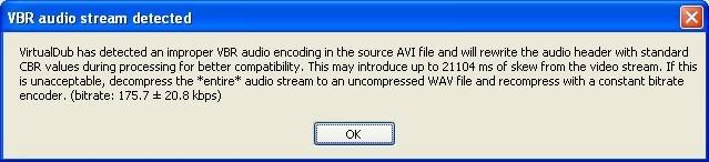Ondertiteling toevoegen in Virtual Dub Virtualdub1