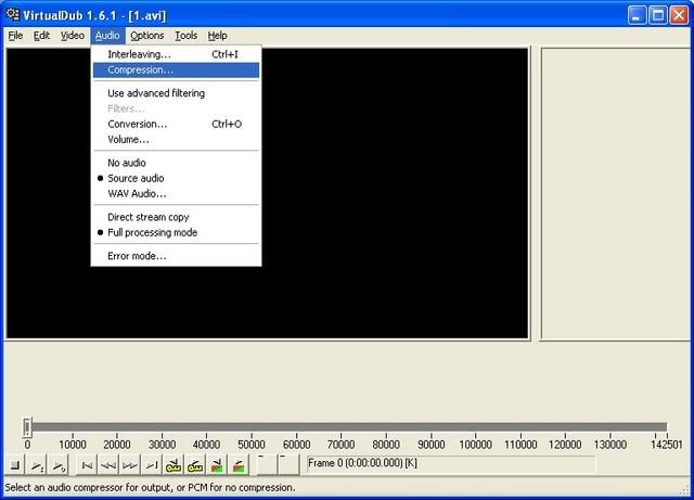 Ondertiteling toevoegen in Virtual Dub Virtualdub3a