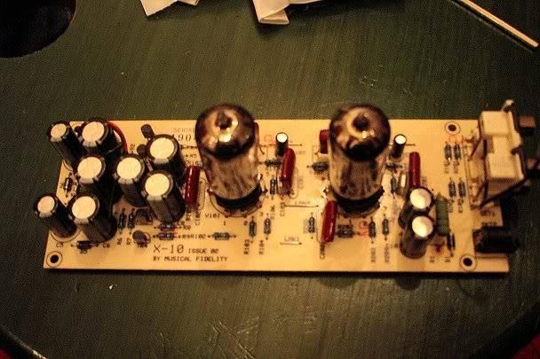 Ipod tube output stage X10-Dmod