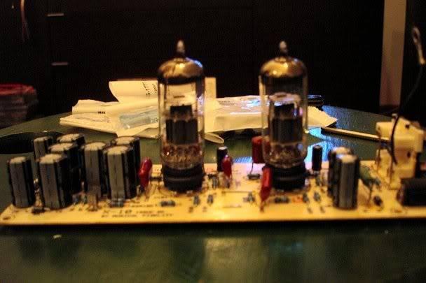 Ipod tube output stage X10-Dmod1