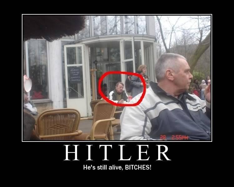 Demotivational Posters. Hitler