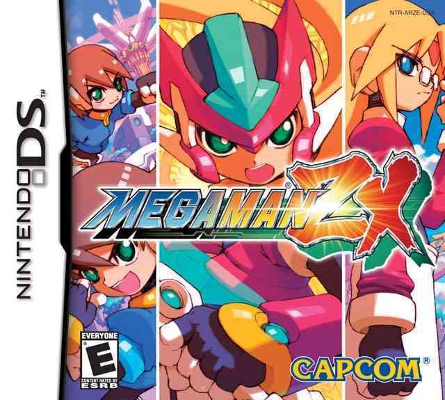 Nintendo DS Games MegamanZX