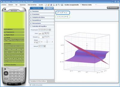 Matemáticas de Microsoft MatematicasMicrosoft001