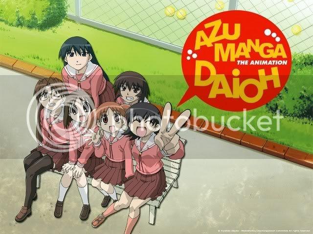 Manga o Anime para reír Mini-azumanga