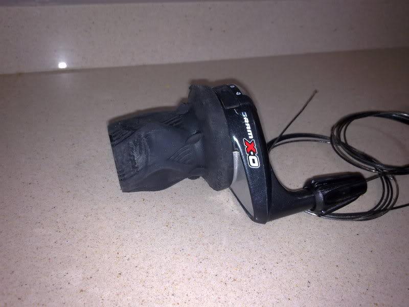-VENDIDOS- SE VENDEN PAREJA DE MANDOS SRAM X0 Twister Shifter 9sp 24112010120