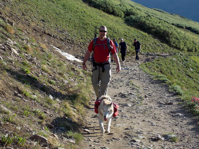 Hiking with Dogs~ Kelso Mt. CO~ 13,164ft DSCN2064