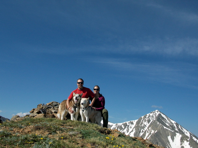 Hiking with Dogs~ Kelso Mt. CO~ 13,164ft DSCN2114