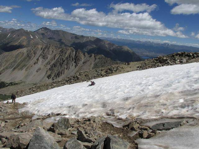 Hiking without Dogs~ La Plata peak CO~ 14,336ft 10960410_10207554466885712_7094566297772933304_o