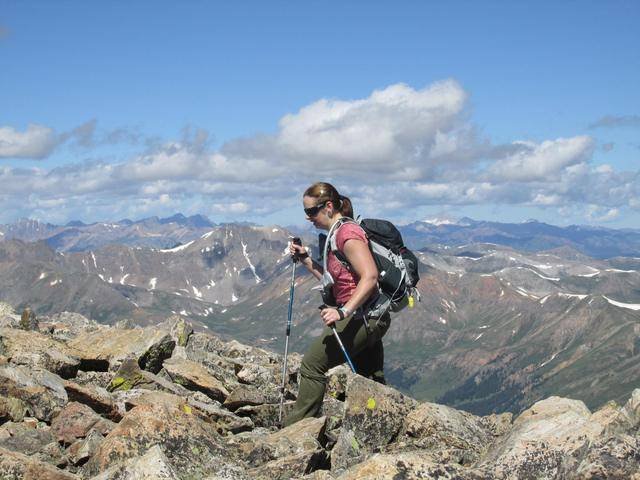 Hiking without Dogs~ La Plata peak CO~ 14,336ft 11722099_10207554438244996_590347851612213948_o