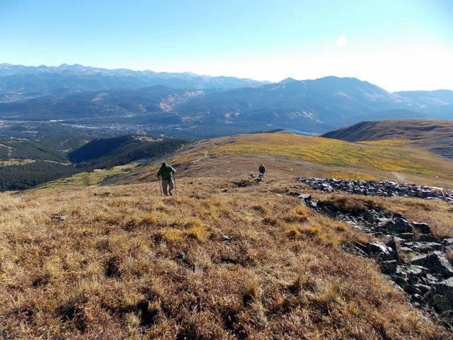 Hiking with dogs~Peak 9- 13,195ft & Peak 10- 13,633ft ~ Colorado DSCN2697