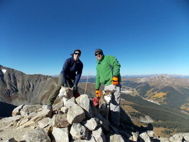 Hiking with dogs~Peak 9- 13,195ft & Peak 10- 13,633ft ~ Colorado DSCN2723