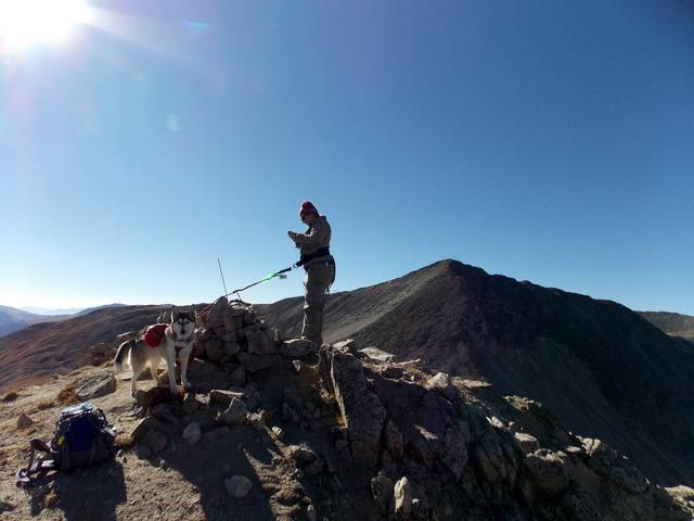 Hiking with dogs~Peak 9- 13,195ft & Peak 10- 13,633ft ~ Colorado DSCN2733