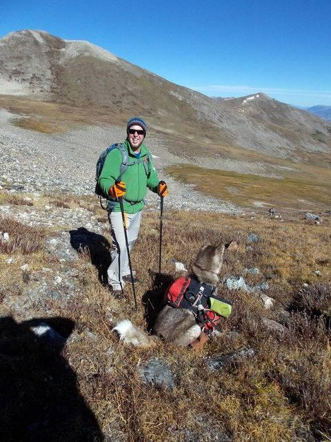 Hiking with dogs~Peak 9- 13,195ft & Peak 10- 13,633ft ~ Colorado DSCN2759
