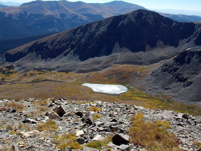 Hiking with dogs~Peak 9- 13,195ft & Peak 10- 13,633ft ~ Colorado DSCN2770