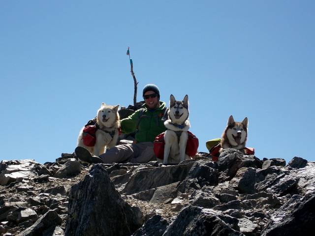 Hiking with dogs~Peak 9- 13,195ft & Peak 10- 13,633ft ~ Colorado DSCN2794