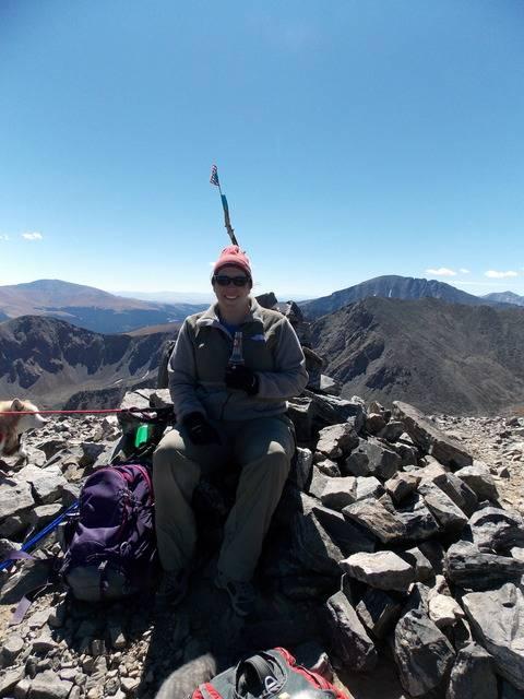 Hiking with dogs~Peak 9- 13,195ft & Peak 10- 13,633ft ~ Colorado DSCN2808