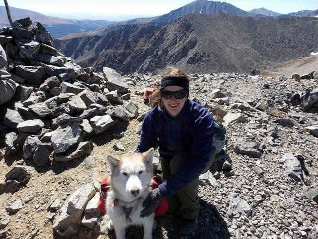 Hiking with dogs~Peak 9- 13,195ft & Peak 10- 13,633ft ~ Colorado DSCN2820