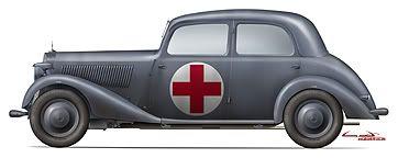 Mini Art anounces more stuff 170V-Ambulance