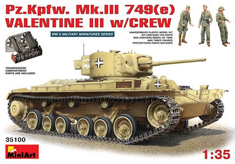 Mini Art's next Valentine 35100