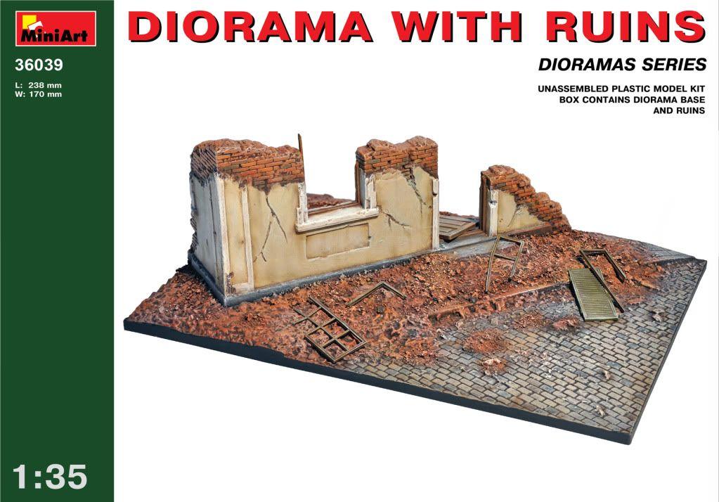 A new mini diorama base from Mini-Art 36039
